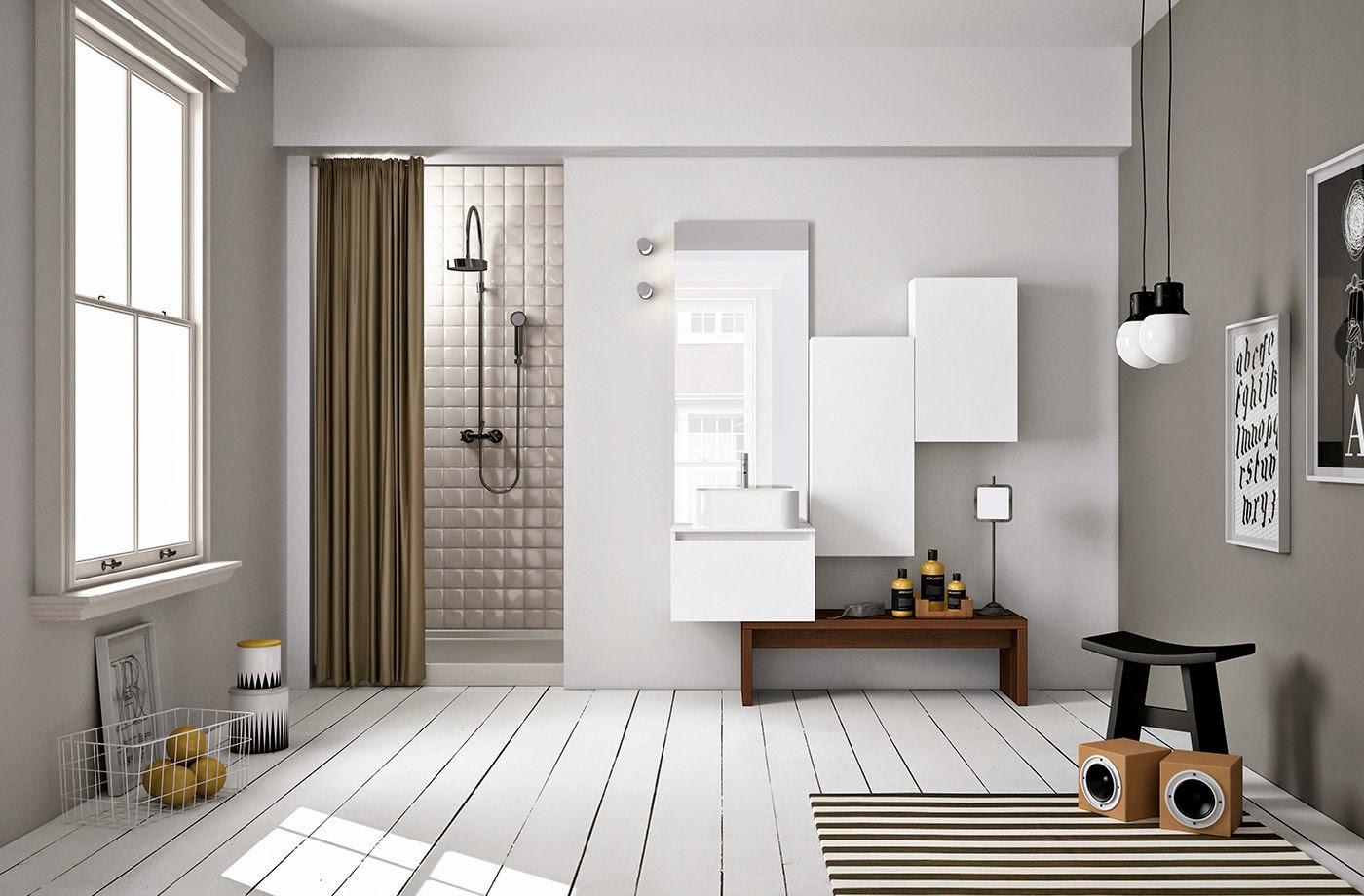 30 ba os n rdicos inspiraci n escandinava - Idea casa arredamenti ...