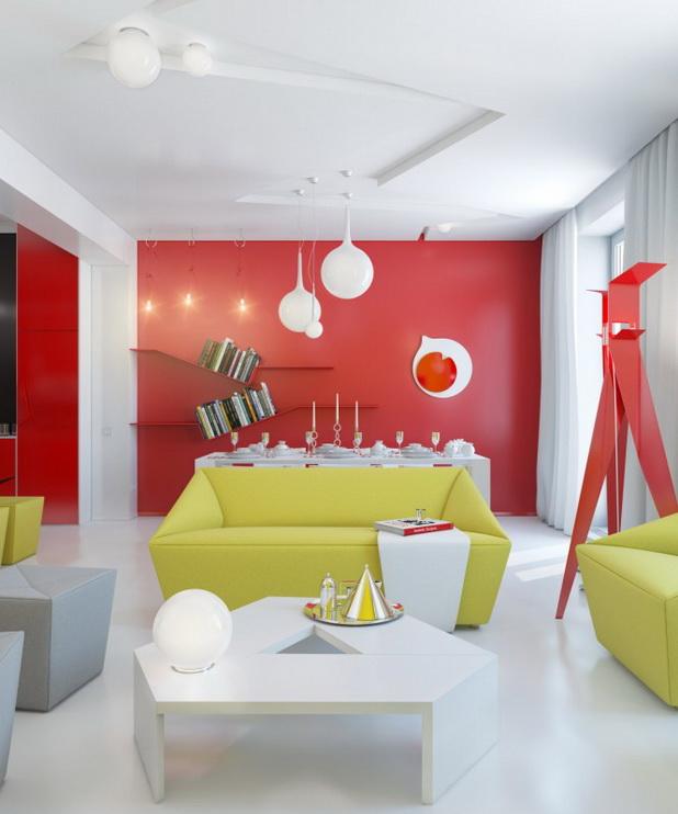 DECO CHAMBRE INTERIEUR: La Conception intérieure d\'un Appartement ...