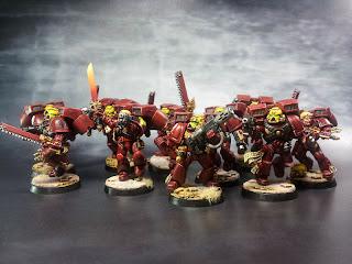 Blood Angels - Escuadra de Asalto - Warhammer 40000 7-Familia
