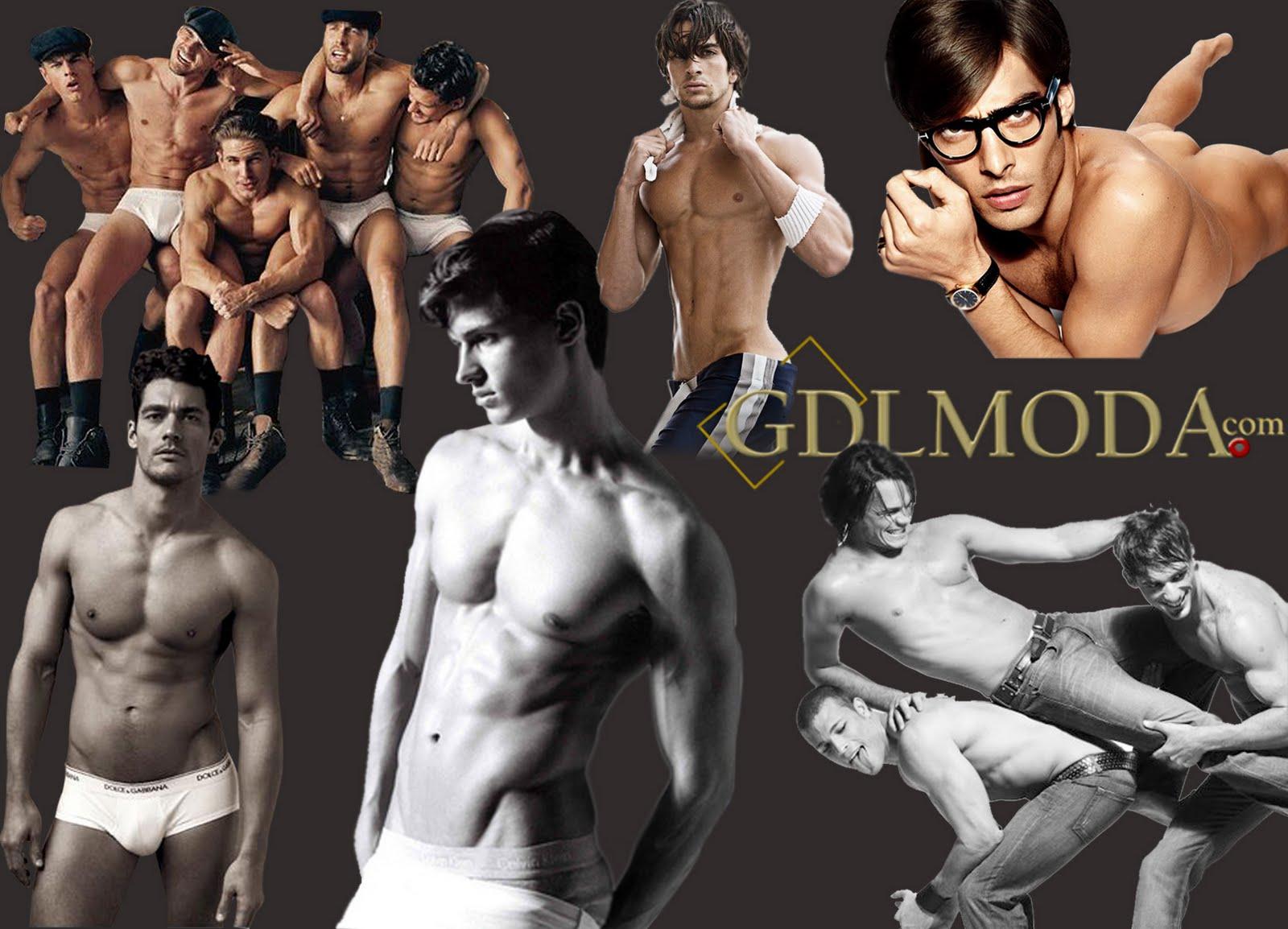 Modelos masculinos vestidos de angeles
