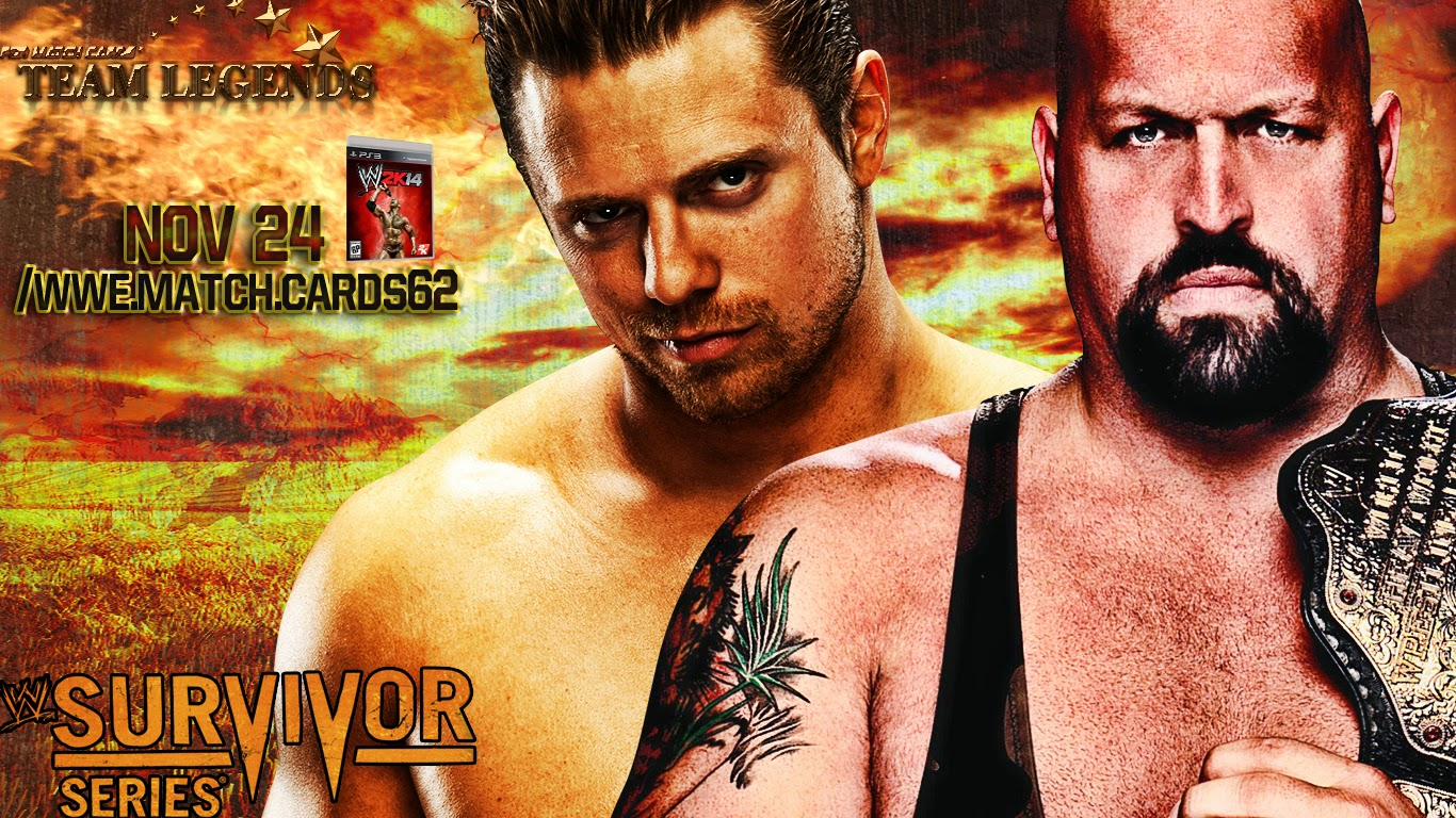 WWE Survivor Series 2013 Simple Match Card Custom