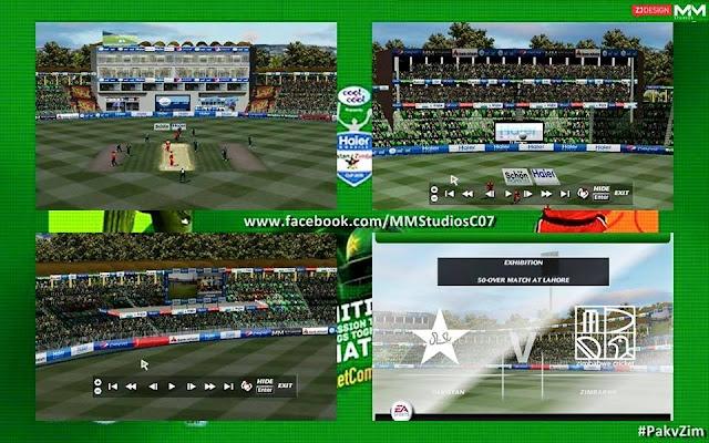 Gaddafi Stadium Lahore For Cricket 07