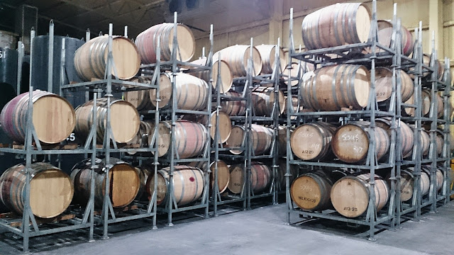 Naked Wines Australia, winery, oak barrels
