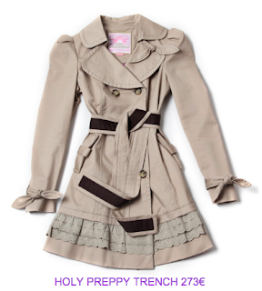 HolyPreppy trench
