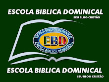 EBD-ESCOLA BÍBLICA DOMINICAL
