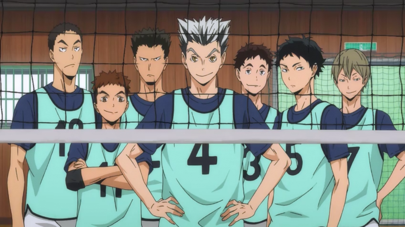 Haikyuu season 2 episode 10