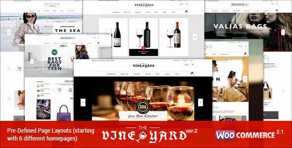 Responsive WooCommerce Theme – WineStore