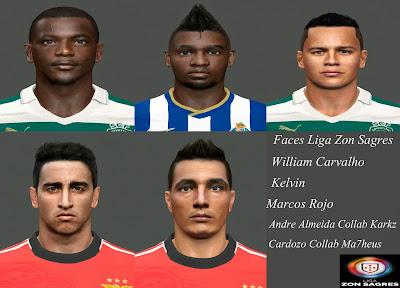 PES 2014 Vol.2 Facepack Liga Zon Sagres by miguelrioave
