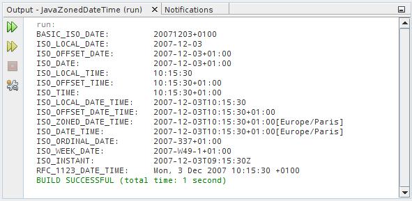 Date format java in Australia