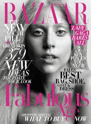 lady gaga sin maquillajes en blanco y negro foto 2011