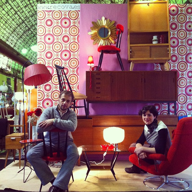 I love retro la feria del mueble vintage en madrid - Feria del mueble madrid ...
