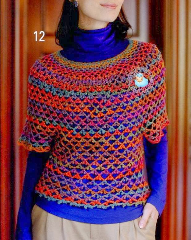 Crochet Patterns Sweater : Crochet Sweater