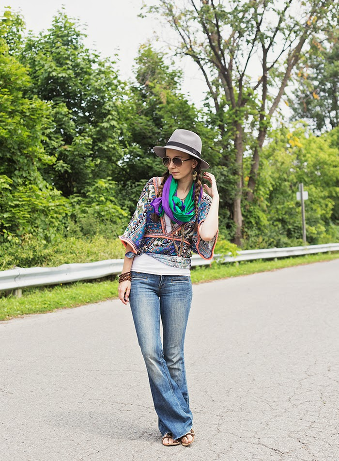 Fedora-Boho-Gypsy-top
