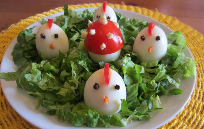 Stile di vita cibo salute aprile 2015 - Uova decorate per bambini ...