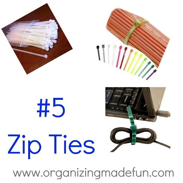 5 favorite things for organizing