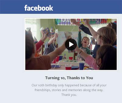 Potret Perjalanan 10 Tahun Facebook