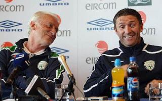 Trappatoni e Keane: Os maiores destaques da Irlanda