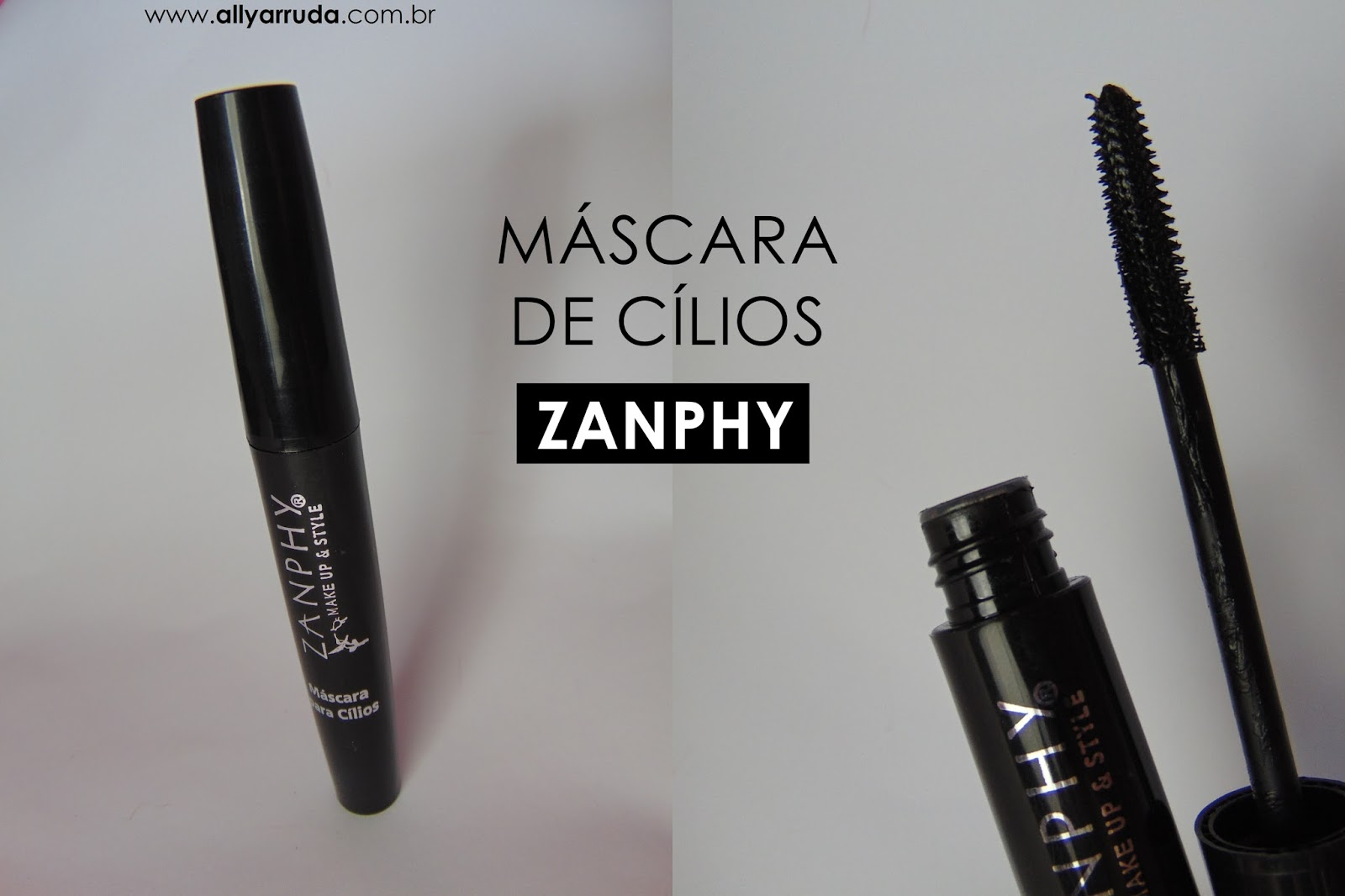 Máscara de Cílios Zanphy | Blog Ally Arruda