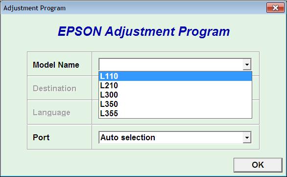 Программа adjustment program предназначена не только для сброса счетчика памперса