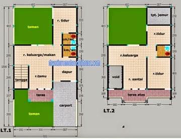 gb5 type 100 2 lt luas tanah 120 m2