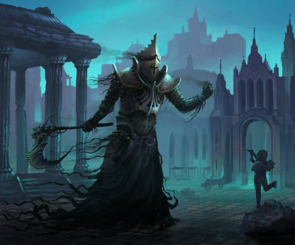 Markus Härma deviantart ilustrações fantasia ficção científica monstros