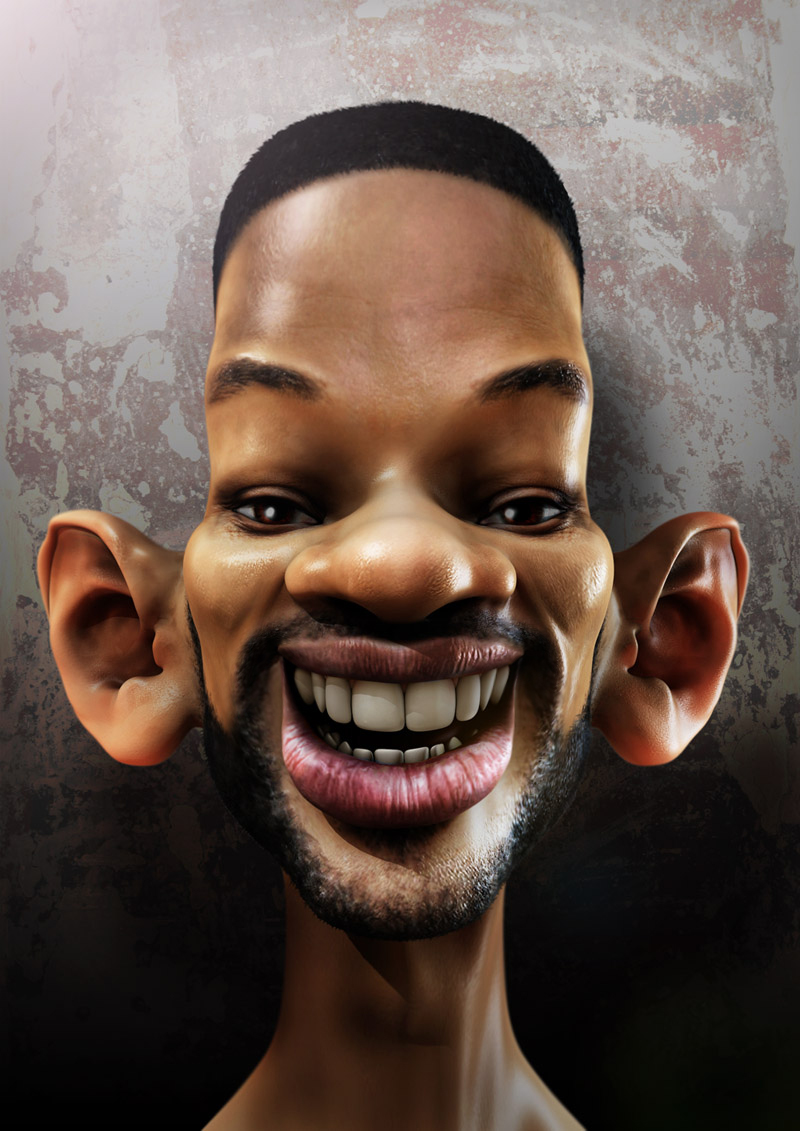 Projects in Computers: Photoshop: Caricature Using Liquify Tool