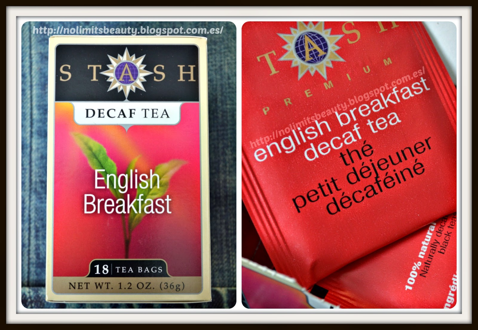 English Breakfast Decaf Tea de Stash