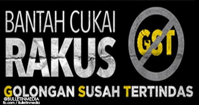 Petisyen Bantah GST Diwujudkan Untuk Mereka Yang Ingin Menolak Pelaksanaan GST