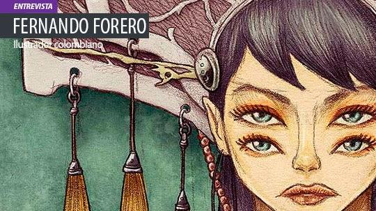 Entrevista. FERNANDO FORERO, ilustrador, diseñador, artista.