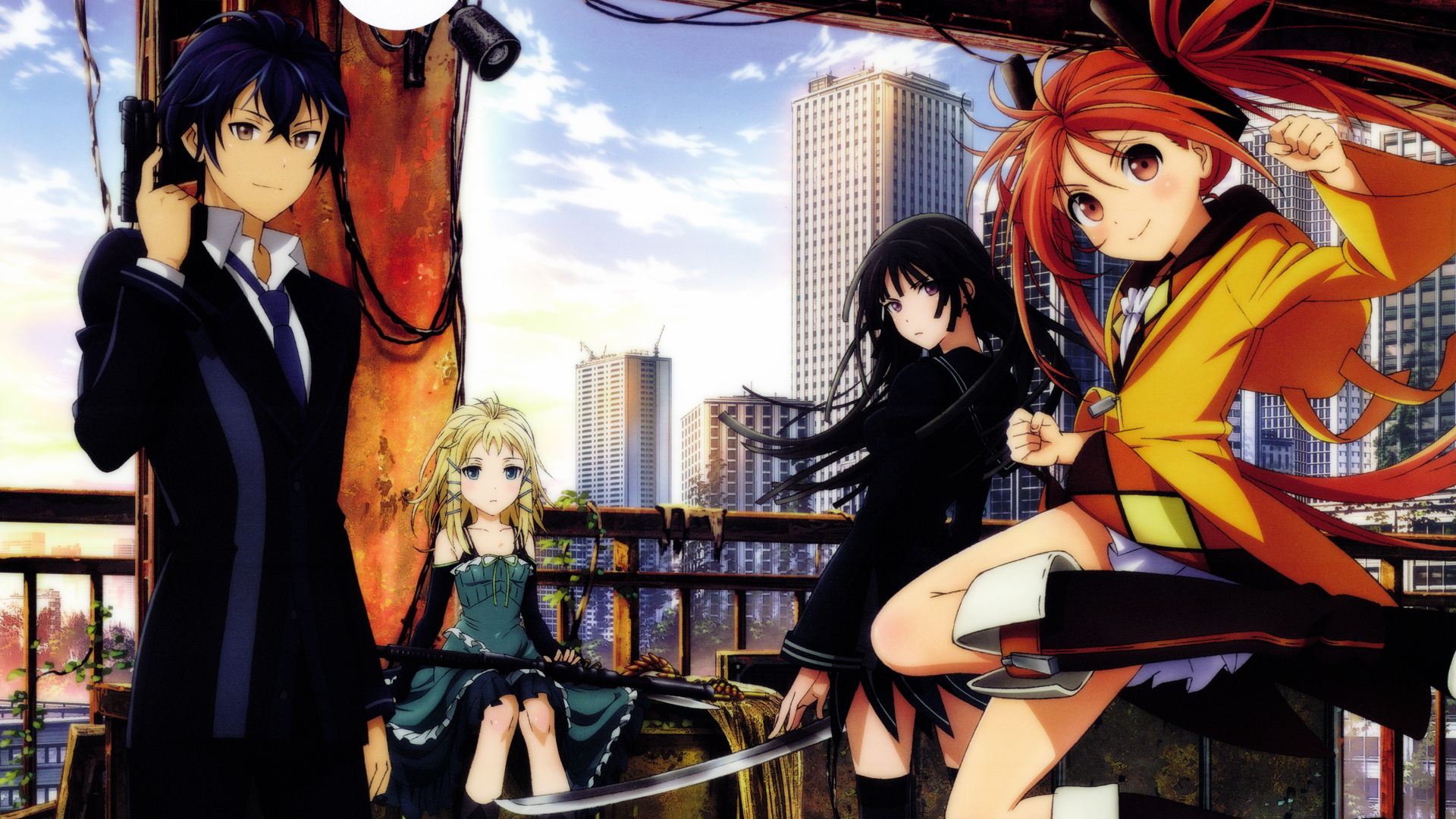 black bullet anime 11 wallpaper hd