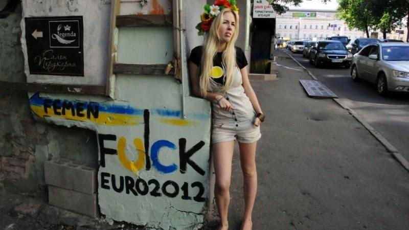 FEMEN. Desnudas y activistas. Lara, Inna. Tetas contra aborto, sexismo, religión y machismo. Feminismo. Inna Shevchenko, Lara Alcázar. Amina