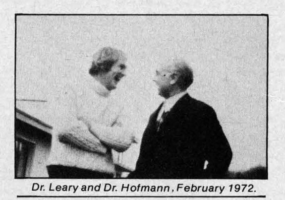 Dr. Leary and Dr. Hofmann