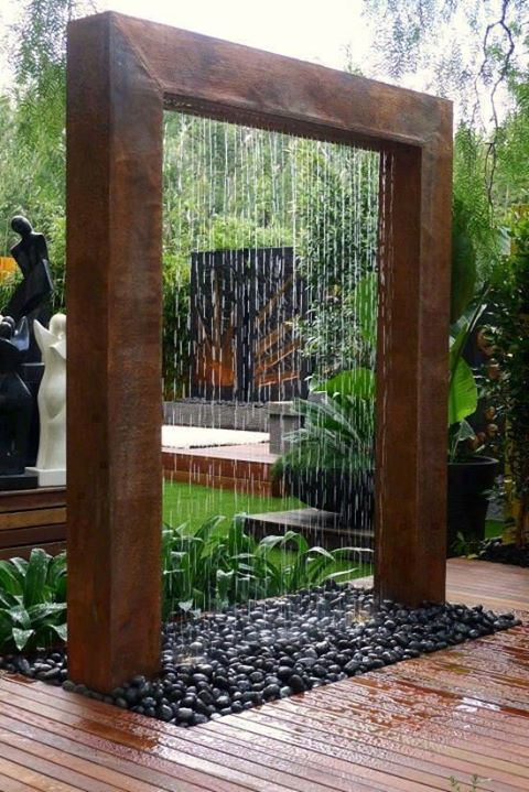 Artistic Land : Cool Outdoor Water Fountain For Your Garden.