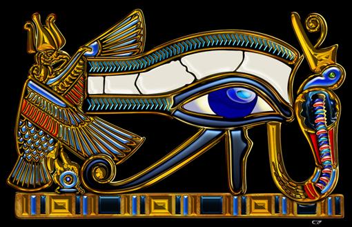 Sacred Symbols 3d The Eye Of Horus