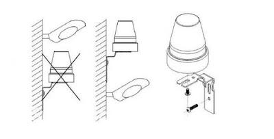 Cách lắp đặt cảm biến quang mở đèn tự động