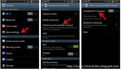 Setting Hotspot Wifi di Ponsel dan Tablet Android