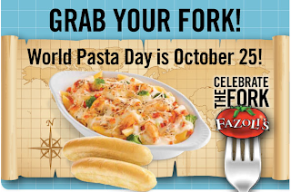 photograph relating to Fazoli's Printable Coupons named Environment Pasta Working day: Offers at Fazolis, Olive Backyard garden, Buca di