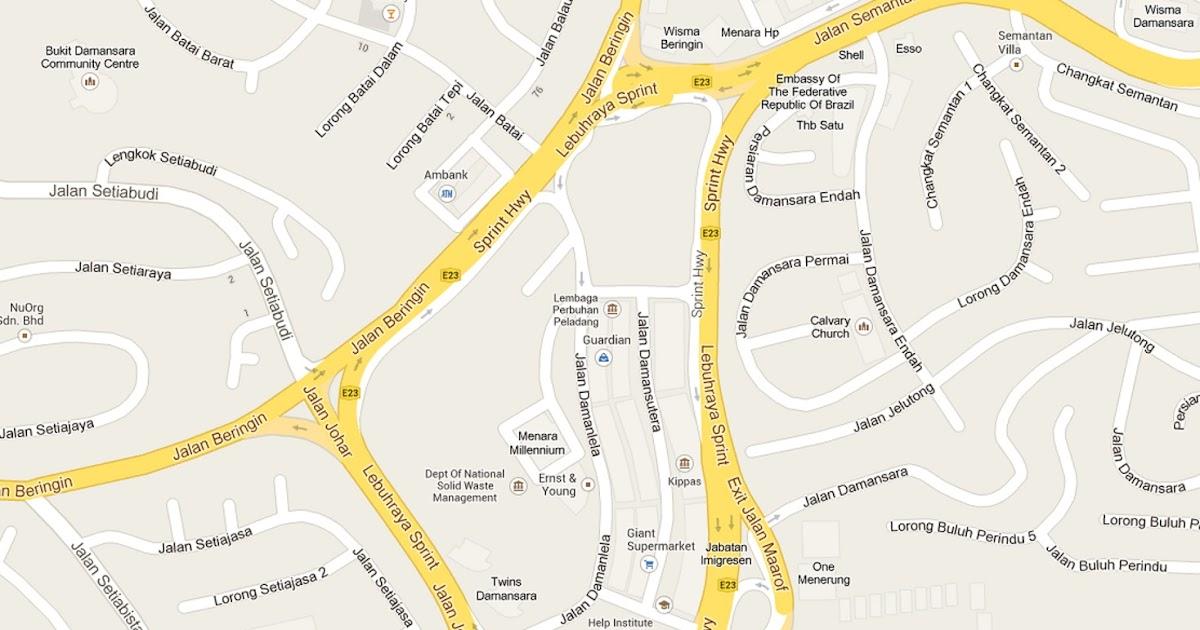 Klku7 Peta Damansara