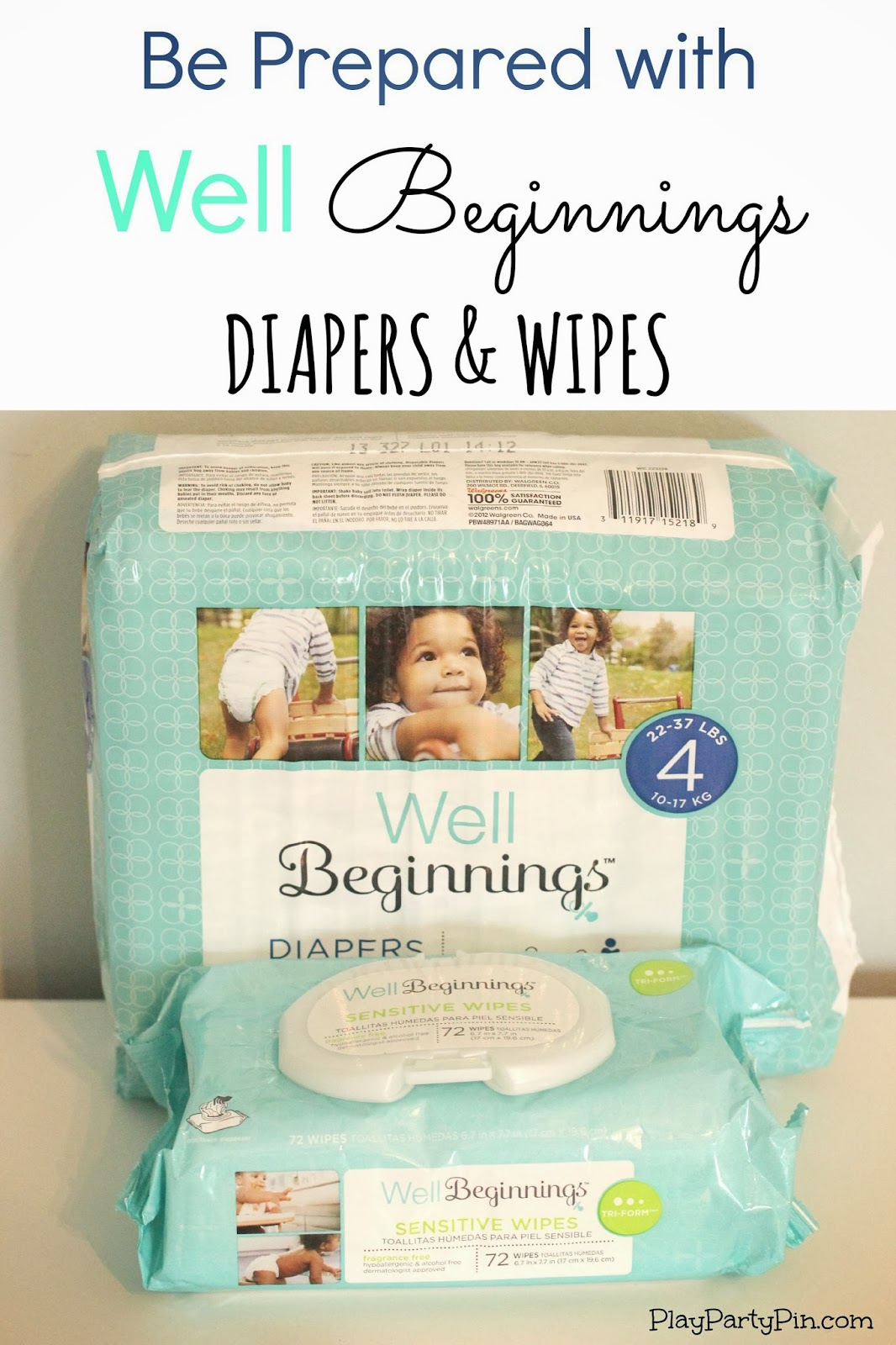 New moms be prepared with #WellBeginnings diapers and wipes #ad