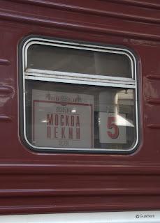 Transiberiana Trem Moscou-Pequim