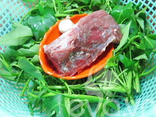 Món Ngon Dễ Làm - Thịt Trâu Xào Rau Muống