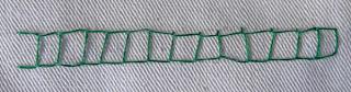 open chain stitch, roman chain stitch