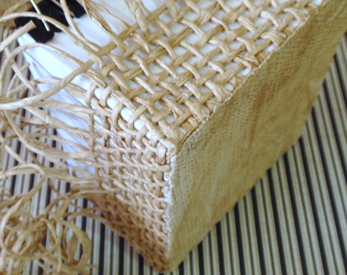 Корзинка плетеная из шпагата своими руками