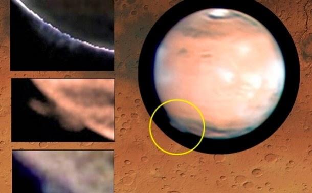 Névoa misteriosa na superfície de Marte intriga cientistas