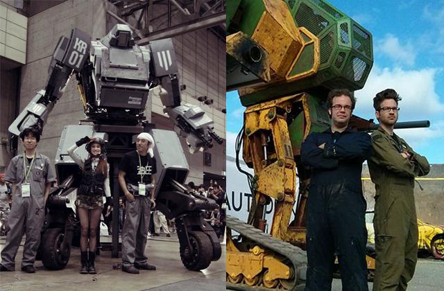 Briga de robôs gigantes EUA e Japão