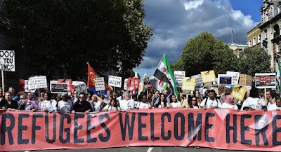 migráció, Migráns Szolidaritás Csoport, Magyarország, Európai Unió, Refugees Welcome