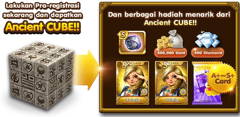 Cara Mendapatkan Ancient Cube Gratis Bulan Mei, Cara Dapatkan Ancient Cube Gratis.