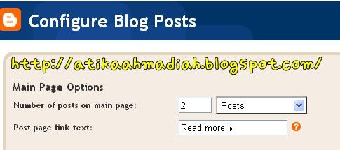 Tutorial, Tutorial Post Per Page, Template, Post, Blog, Blogspot, Blogger, Cara nak Adjust Post Per Page, Cara nak adjust Bilangan Post