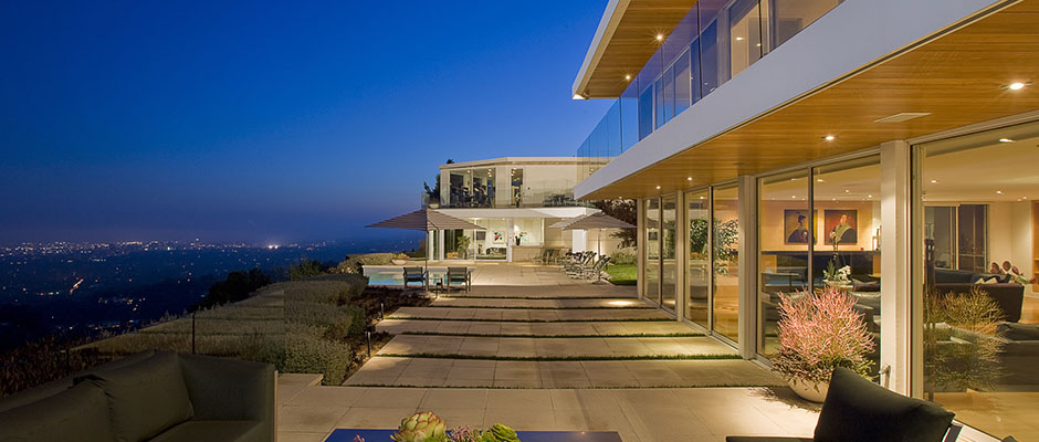 World of architecture hollywood villas modern multi for Villas california
