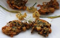 Wild Garlic Pakoras